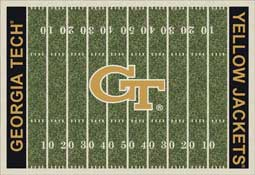 Georgia Tech Yellow Jackets Collegiate Rugs