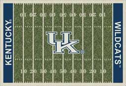 University of Kentucky Wildcats Football Field Area Rug