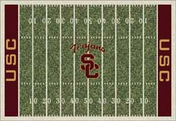 University of Southern California Trojans Football Field Area Rug