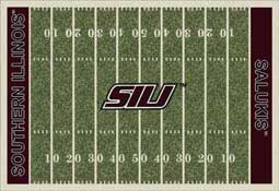 Southern Illinois University Salukis Football Field Area Rug