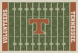 University of Tennessee Volunteers Football Field Area Rug