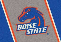 Boise State University Broncos Collegiant Area Rug and Mat
