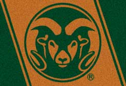 Colorado State University Collegiate Rug and Mat