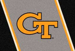 Georgia Tech Collegiate Rug and Mat