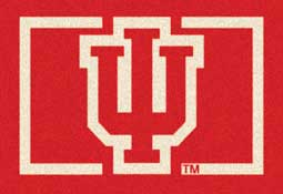 University of Indiana Collegiate Rug and Mat