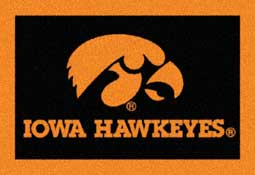 University of Iowa Collegiate Rug and Mat