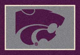 Kansas State University Wildcats Collegiate Rugs and Mats