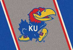 University of Kansas Jayhawks Collegiate Rugs and Mats