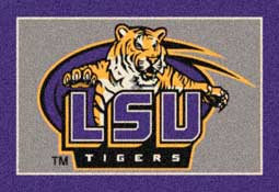 Louisiana State University Tigers Collegiate Rugs and Mats