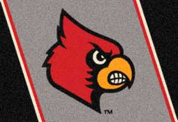 University of Louisville Cardinals Collegiate Rugs and Mats