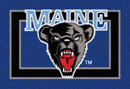 University of Maine Black Bears Collegiate Rugs and Mats