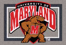 University of Maryland Terrapins Collegiate Rugs and Mats