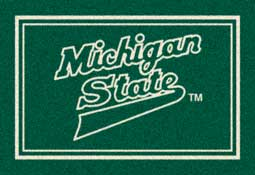 Michigan State University Spartans Collegiate Rugs and Mats