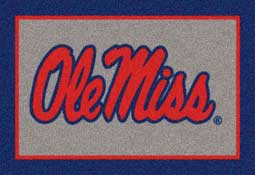 University of Mississippi Rebels Collegiate Rugs and Mats