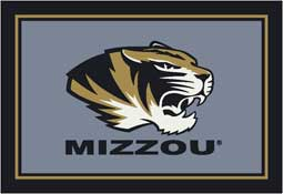 University of Missouri Tigers Collegiate Rugs and Mats