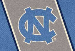 University of North Carolina Tar Heels Collegiate Rugs and Mats