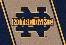 University of Notre Dame Fighting Irish Collegiate Rugs and Mats