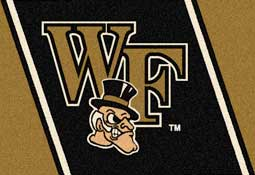 Wake Forest University Demon Deacons Collegiate Rugs and Mats