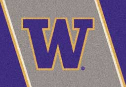 University of Washington Huskies Collegiate Rugs and Mats