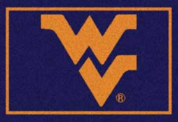 West Virginia University Mountaineers Collegiate Rugs and Mats