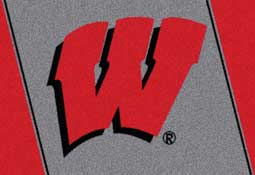 University of Wisconsin Badgers Collegiate Rugs and Mats