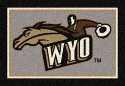 University of Wyoming Cowboys Collegiate Rugs and Mats
