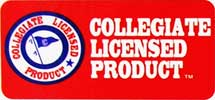 Official Collegiate College Rug Mat License
